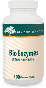 Bio Enzymes - 100 Tabs By Genestra Brands