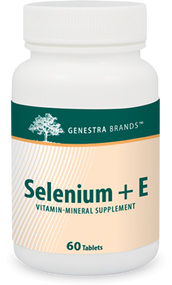 Selenium + E - 60 Tabs By Genestra Brands