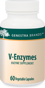 V-Enzymes - 60 Capsules By Genestra Brands