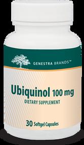 Ubiquinol 100mg - 30 softgels By Genestra Brands