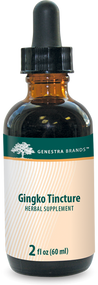 Ginkgo Tincture - 2 fl oz By Genestra Brands