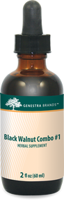 Black Walnut Combination # 1 - 2 fl oz By Genestra Brands