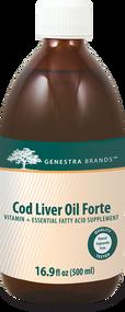 Cod Liver Oil Forte 16.9 fl oz - 16.9 fl oz By Genestra Brands