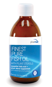 Finest Pure Fish Oil with Plant Sterols - 10.1 fl oz By Pharmax