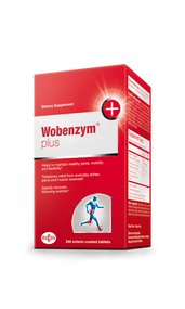 Wobenzym® Plus 240 Tabs by Mucos Pharma
