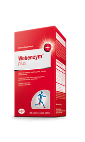 Wobenzym® Plus 480 Tabs by Mucos Pharma