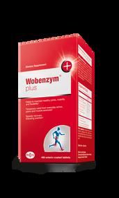 Wobenzym® Plus by Mucos Pharma  480 Tabs