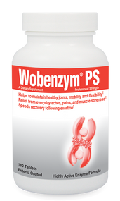 Wobenzym® PS by Mucos Pharma 180 tablets