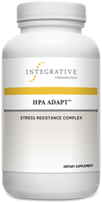 Supporting the Stress Response System with Adaptogenic Herbs*   The hypothalamic-pituitary-adrenal axis, or HPA axis, is the central part of the stress response system. It involves a complex set of interactions and feedback loops between the hypothalamus, the pituitary, and the adrenal glands. The HPA axis also plays a role in the regulation of other systems of the body, including the gastrointestinal, neurological, and immune systems. Therefore, supporting optimal HPA axis function is important to maintaining overall health and wellness.  HPA Adapt combines five powerful adaptogenic herbs to help the body better respond to both mental and physical stressors.* With key ingredients, such as Rhodiola root extract, Sensoril® Ashwagandha, and Eleuthero root extract, combined with standardized extract of Maca and Holy Basil leaf, HPA Adapt supports healthy stress hormone balance via the HPA axis.*  HPA Adapt:  Is a non-stimulant formula. Reduces mental stress and fatigue.* Improves mood and calms occasional anxiety.* Supports cognitive function.*
