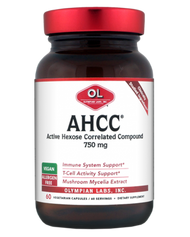 Ahcc 750 Mg By Olympian Labs - 60 Capsules