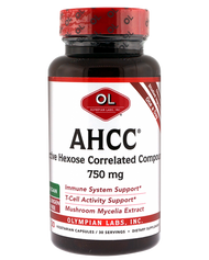 Ahcc 750 Mg By Olympian Labs - 30 Capsules