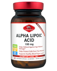 Alpha Lipoic Acid 100 Mg By Olympian Labs - 60 Capsules