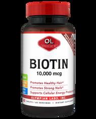 Biotin 10000 mcg ( 10mg ) by Olympian Labs 60 capsules