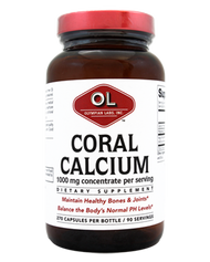 Coral Calcium 1 G By Olympian Labs - 270 CP