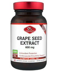Grape Seed Extract 600 Mg By Olympian Labs - 60 Capsules