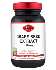 Grape Seed Extract 120 Mg By Olympian Labs - 100 Capsules