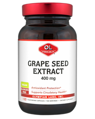 Grape Seed Extract 400 Mg By Olympian Labs - 100 Capsules
