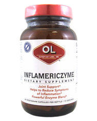 Inflamericzyme  By Olympian Labs - 60 Capsules