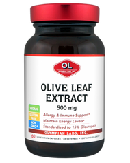 Olive Leaf Extract 500 Mg By Olympian Labs - 60 Capsules