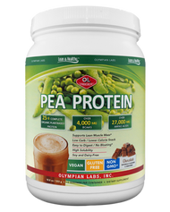 Pea Protein Chocolate Small 25 G By Olympian Labs - 533 GM