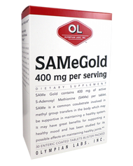 Same Gold 400 Mg By Olympian Labs - 30 TB