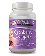 OB Cranberry  By Olympian Labs - 30 CP