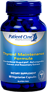 Thyroid Maintenance by Patient One