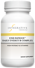End Fatigue Daily Energy B Complex by Integrative Therapeutics 30 Vege Capsules