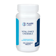 Vital-Zymes Chewable by Klaire Labs 180 tablets