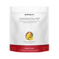 UltraInflamX Plus 360® Medical Food by Metagenics Tropical Mango Flavor (22.22 oz)