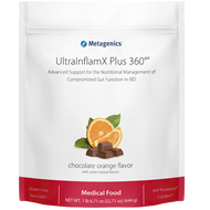 UltraInflamX Plus 360® Medical Food by Metagenics Chocolate Orange Flavor (23.21 oz)
