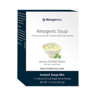 Ketogenic Soup (Savory Chicken Flavor) By Metagenics 47.5 Grams (11.73 oz)