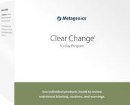 Clear Change® 10 Day Program with UltraClear® Plus Vanilla By Metagenics