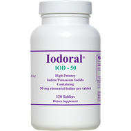 Iodoral IOD-50 By Optimox 120 Tablets
