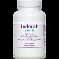 Iodoral IOD-50 By Optimox 120 Tablets