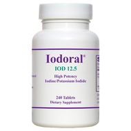 Iodoral IOD-12.5 By Optimox 240 Tablets
