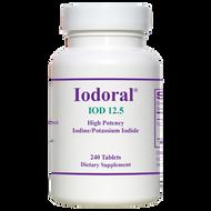Iodoral IOD-12.5 By Optimox 240 Tablets