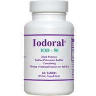 Iodoral IOD-50 By Optimox 60 Tablets
