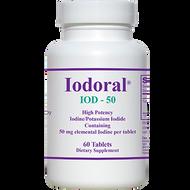 Iodoral IOD-50 By Optimox 60 Tablets