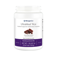 UltraMeal® Rice (Chocolate) By Metagenics 1 lb 9.67 oz (728 g)