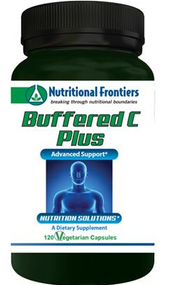 Buffered C Plus by Nutritional Frontiers 120 Vege Capsules