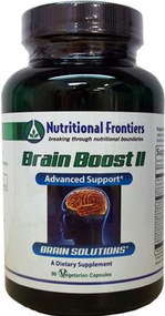 Brain Boost II by Nutritional Frontiers 90 Capsules