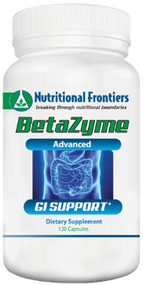 BetaZyme by Nutritional Frontiers 120 Capsules