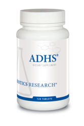 ADHS by Biotics Research Corporation 120 Tablets