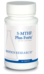 5-MTHF Plus Forte by Biotics Research Corporation 60 Tablets