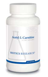 Acetyl-L-Carnitine by Biotics Research Corporation 90 Capsules