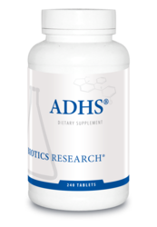 ADHS by Biotics Research Corporation 240 Tablets