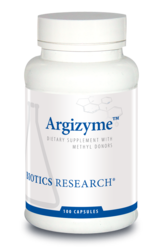 Argizyme by Biotics Research Corporation 100 Capsules