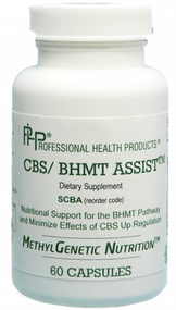 CBS / BHMT Assist by Professional Health Products ( PHP )  60 Capsules