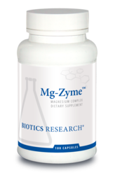 Mg-Zyme by Biotics Research Corporation 100 Capsules